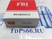 Подшипник  5205-2RS  FBJ- TDPS66.RU