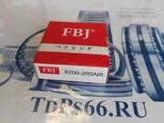 Подшипник  шариковый 6200 2RSNR  FBJ -TDPS66.RU