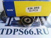 Подшипник  636 2RS NIS -TDPS66.RU
