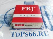 Подшипник 63004 2RS FBJ - TDPS66.RU