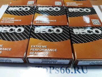 Подшипники термостойкие  6203 BHTS ZZ C4  BECO-TDPS66.RU