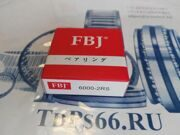 Подшипник  шариковый 6000 2RS  FBJ -TDPS66.RU
