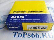Подшипник  6305 ZZ   NIS -TDPS66.RU