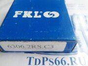 Подшипник  6306 2RSC3   FKL -TDPS66.RU